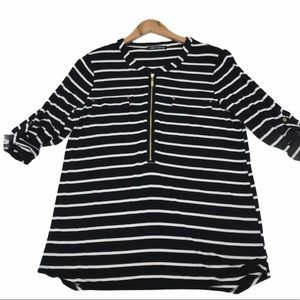 Cable & Gauge Striped Top
